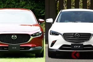 マツダ 新型SUV「CX-30」発表! 同社SUV「CX-3」と何が違う?