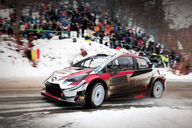 """WRC:オジエのトヨタ初戦は総合2位。移籍で生まれた""""未知なるエリア"""""""