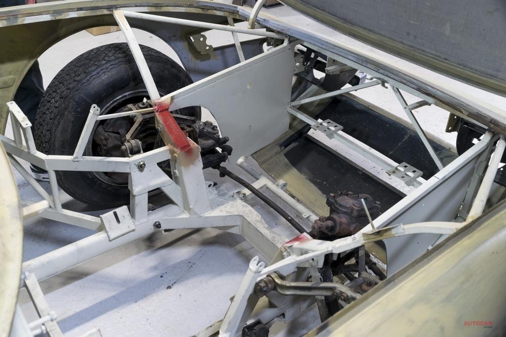 【46年間も不動車】レストア途上のフェラーリ・デイトナがオークションに 約5000万円で落札