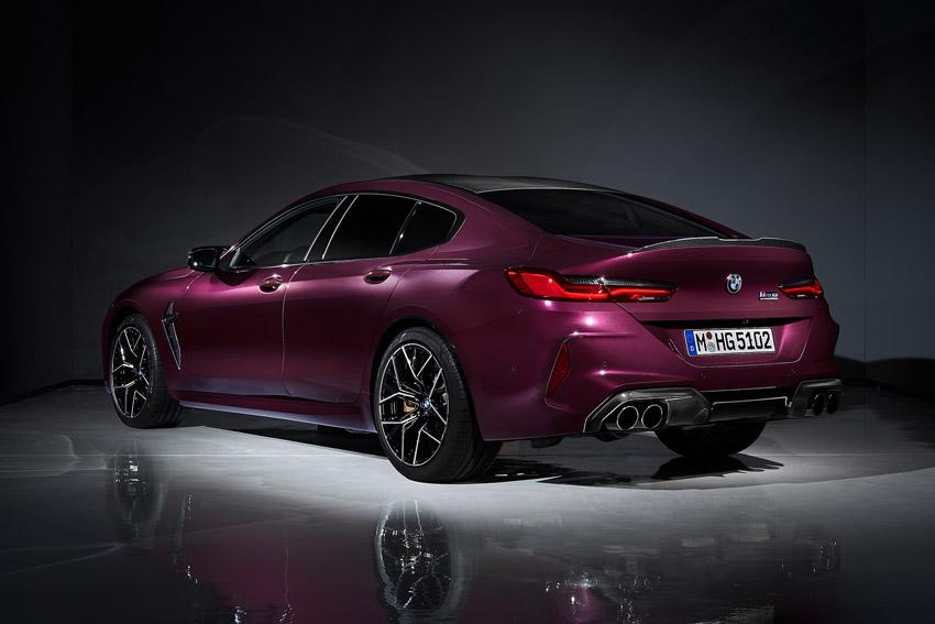 BMW 高出力V8ツインターボ搭載「M8 グランクーペ」発売