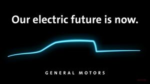 【テスラ、フォードに対抗】GM、EVピックアップ・トラック 2021年に生産へ