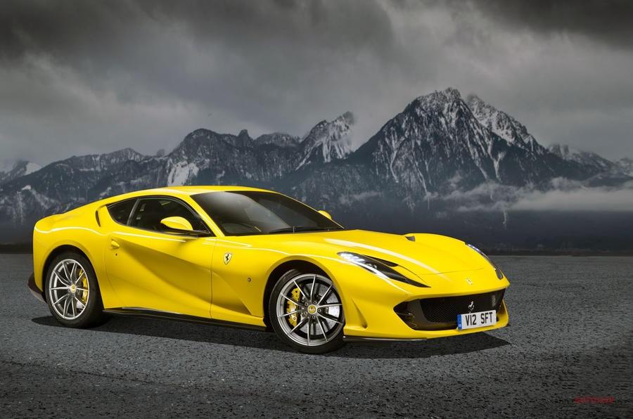 【フェラーリ初の電気自動車】特許スケッチからスタイルが明らかに 812スーパーファスト後継か