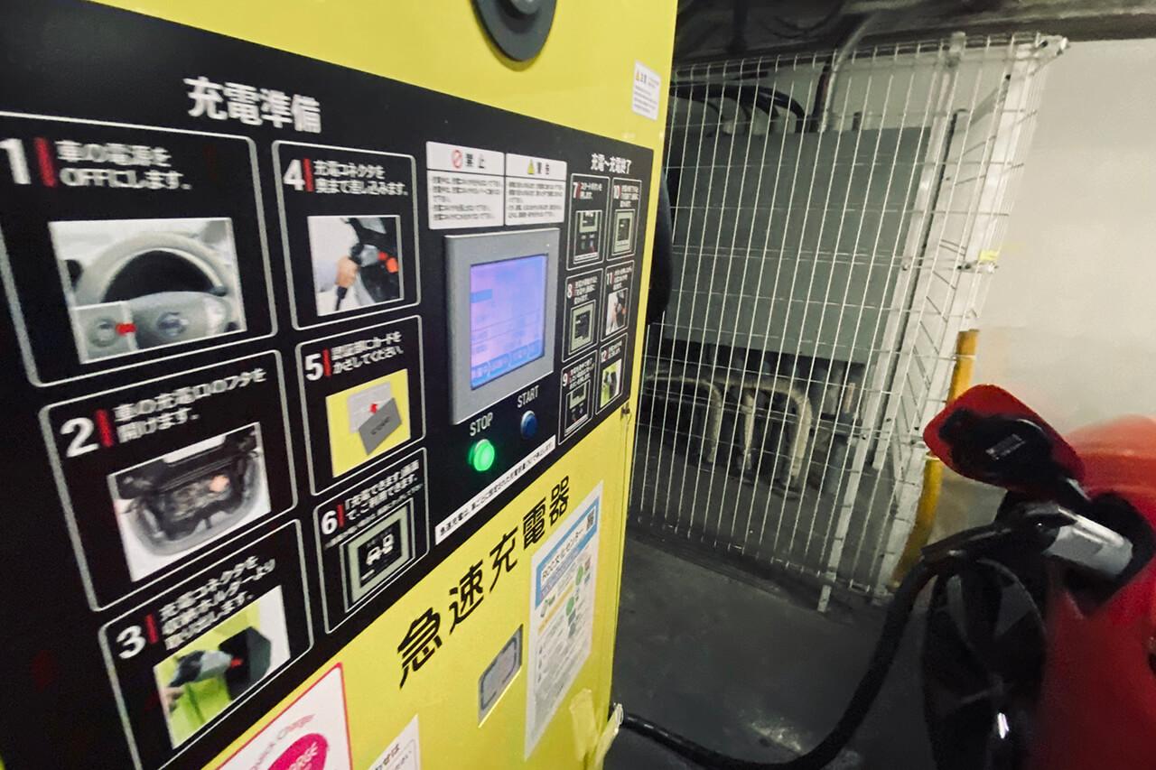 ジャガーI-PACEで充電の旅、徳山→広島。日産ディーラーの急速充電器で充電してみた 桜前線は追えるのか!? ジャガーのEV「I-PACE」で行く「早春、大人の充電旅。第4回」