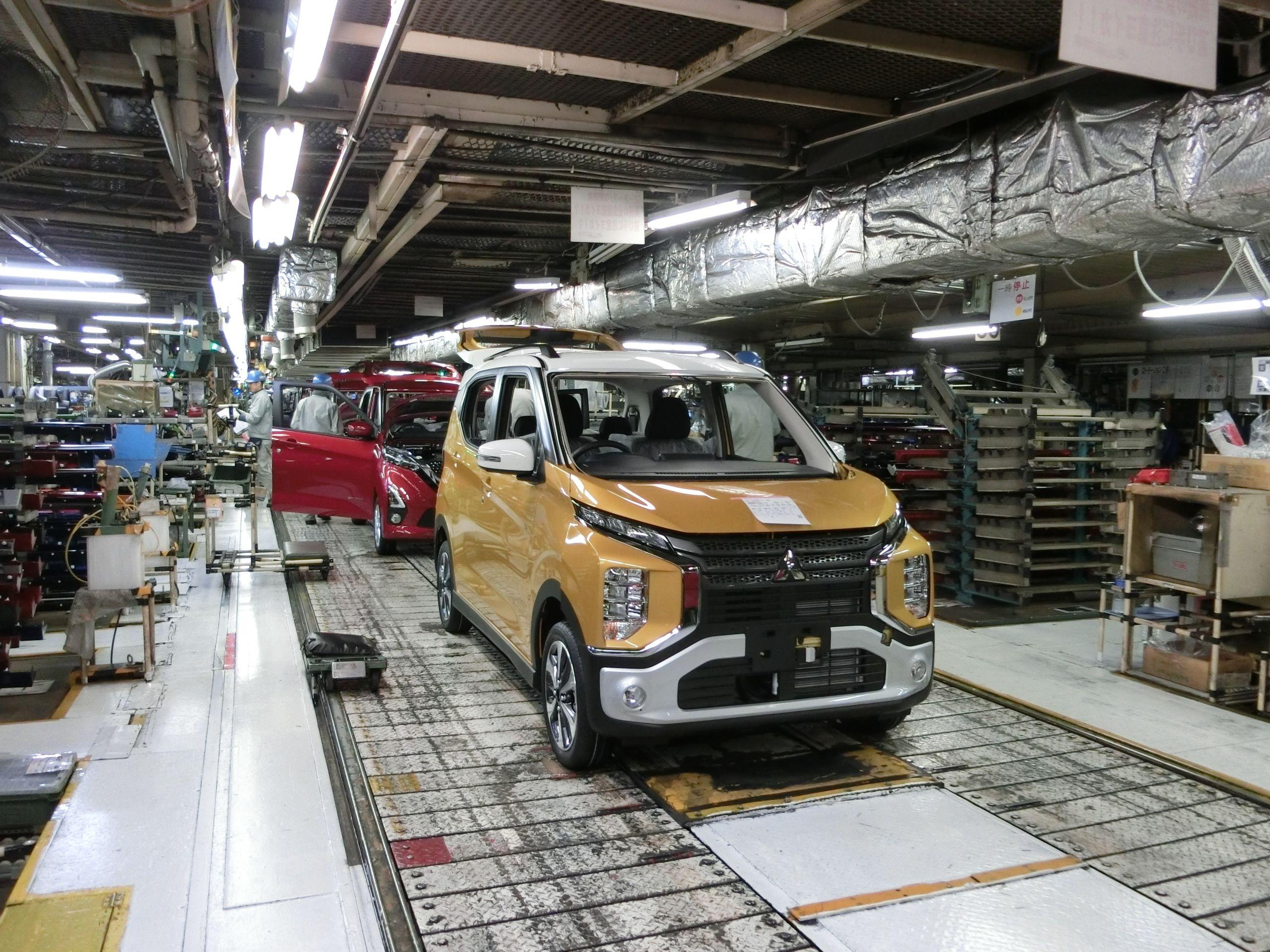 三菱自、水島製作所で軽自動車の生産停止 「eKワゴン」や日産「ルークス」など コロナ影響で部品調達滞る