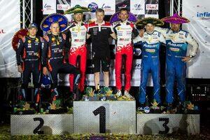 WRC:トヨタ、苦戦続いたメキシコを制す。豊田章男社長「毎年苦しい思いをしてきたメキシコでついに優勝」