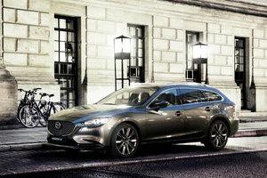 マツダ、ジュネーブモーターショーで商品改良した「Mazda6」ワゴンを世界初公開