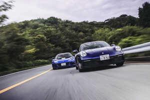 ライバル対決「新型ポルシェ 911 カレラ 4S 対 ロータス エヴォーラ」山田弘樹の見解【動画レポート】