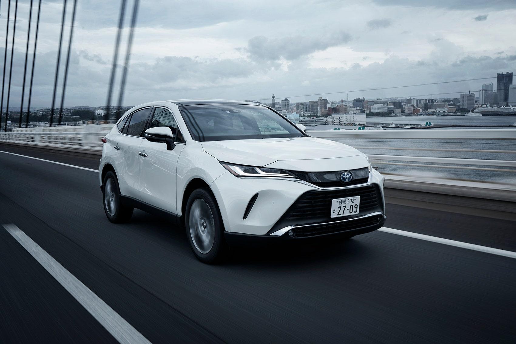 """""""和製プレミアムSUV""""の進化は止まらない~新型トヨタ・ハリアー試乗記"""