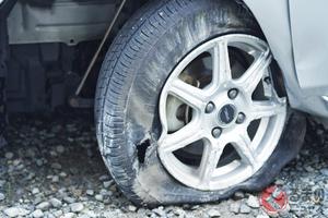 アルヴェル乗りは「格安タイヤ」をなぜ装着? 夏に増加するタイヤトラブルの二大要因
