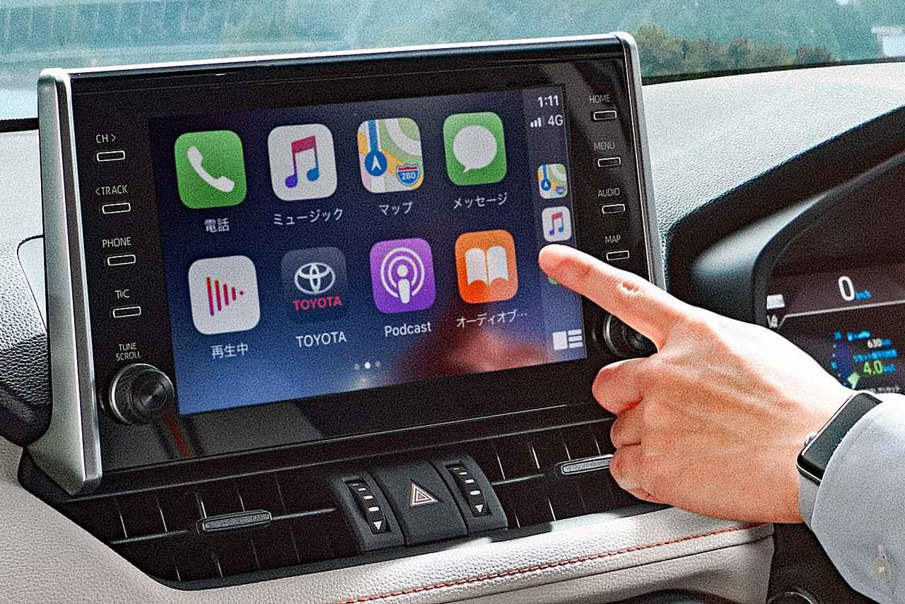 トヨタ RAV4を一部改良。ディスプレイオーディオを全車標準装備、さらに安全装備を充実化