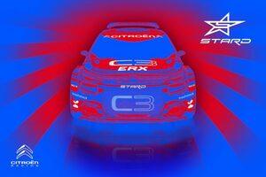 プロジェクトE:STARDがR5ベースの『シトロエンC3 ERX』を発表。2020年開幕戦デビューへ
