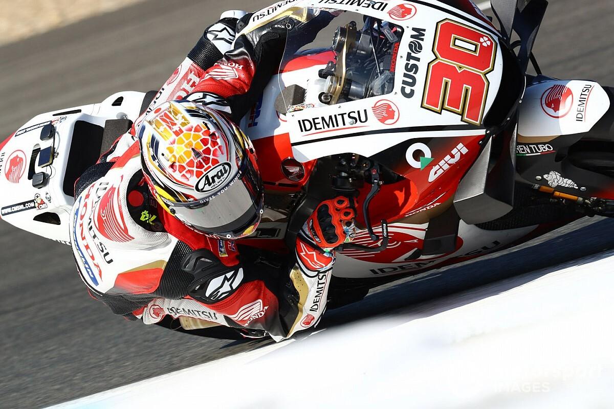 "MotoGPチェコFP1:""覚醒""の中上貴晶、トップタイムで存在感発揮! マルケス不在のホンダ引っ張る"