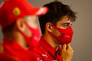 F1第5戦木曜会見(1):「一方的に非難されるのは我慢できない」人種差別主義者かのように見なされたルクレールが反論