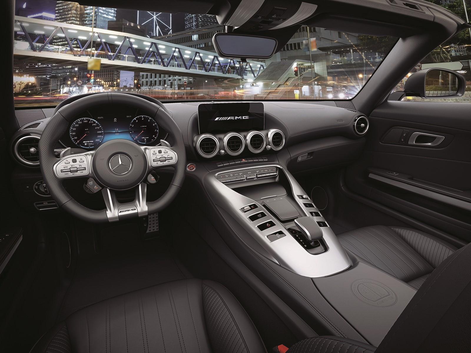 メルセデスAMG GTが改良、ベースモデルが50PS以上パワーアップ