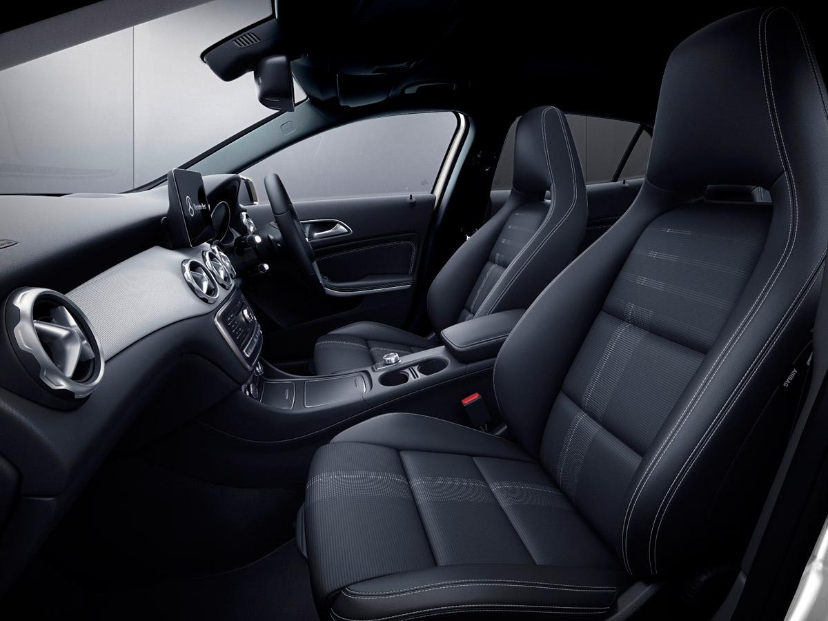 メルセデス・ベンツ、オフロードサスペンション装備の「GLA」特別仕様車発売
