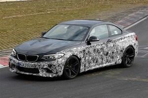 BMW M2、9月デビューに向けてニュルで熟成中