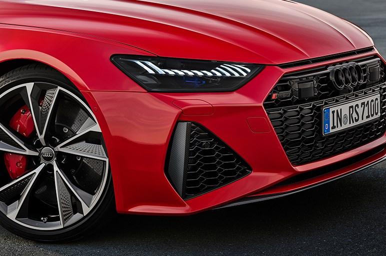 新型アウディ RS7 スポーツバック初公開。48Vマイルドハイブリッド搭載