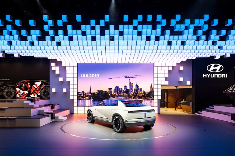 韓国ヒュンダイのデロリアンを思わせるレトロフューチャーなコンセプトカーはなかなかの力作かも