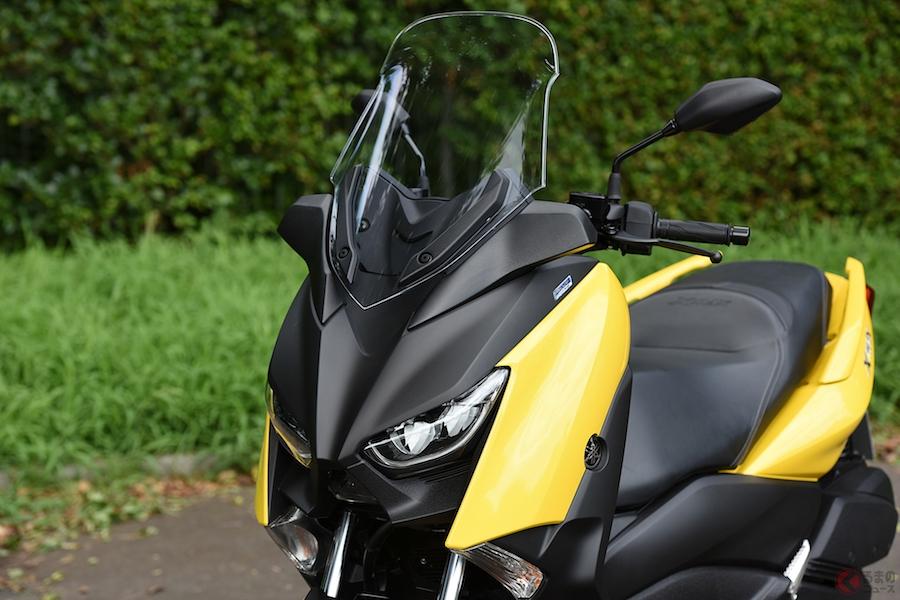 スポーティさと上質感で250ccスクーターの存在価値を再発見! ヤマハ「XMAX」試乗
