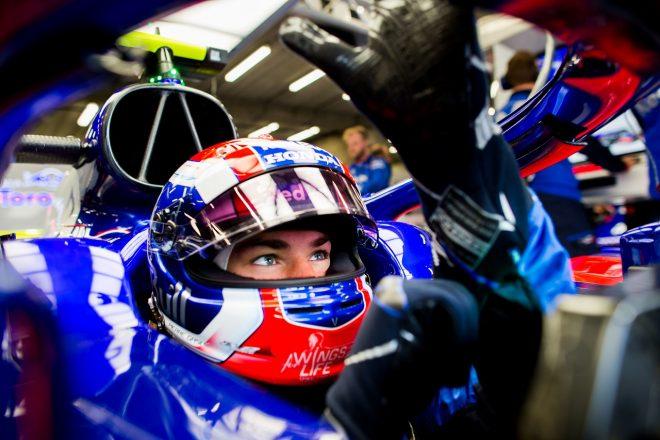 ガスリー「ライバルたちは速い。予選に向け改善が必要」:トロロッソ・ホンダ F1ベルギーGP金曜