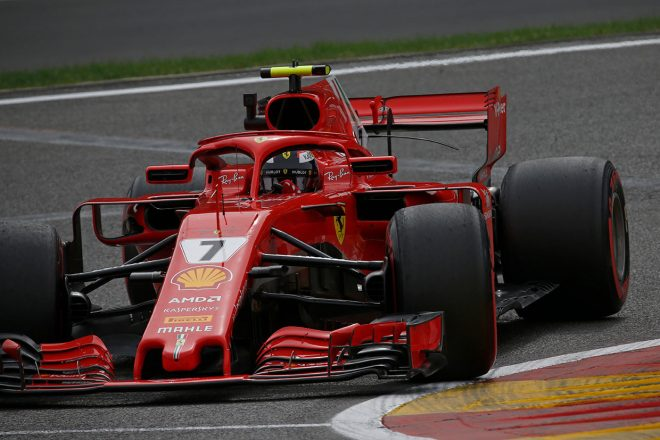 F1ベルギーGP FP2:初日トップタイムはライコネン、トロロッソ・ホンダ勢は15、17番手