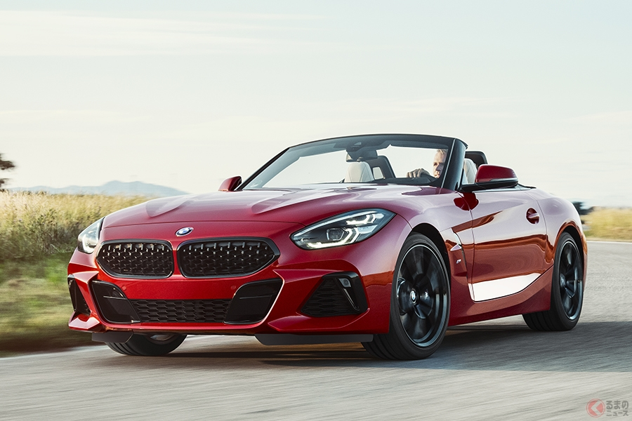 トヨタ 新型スープラと共同開発で話題の新型BMW「Z4」がその姿を初公開!