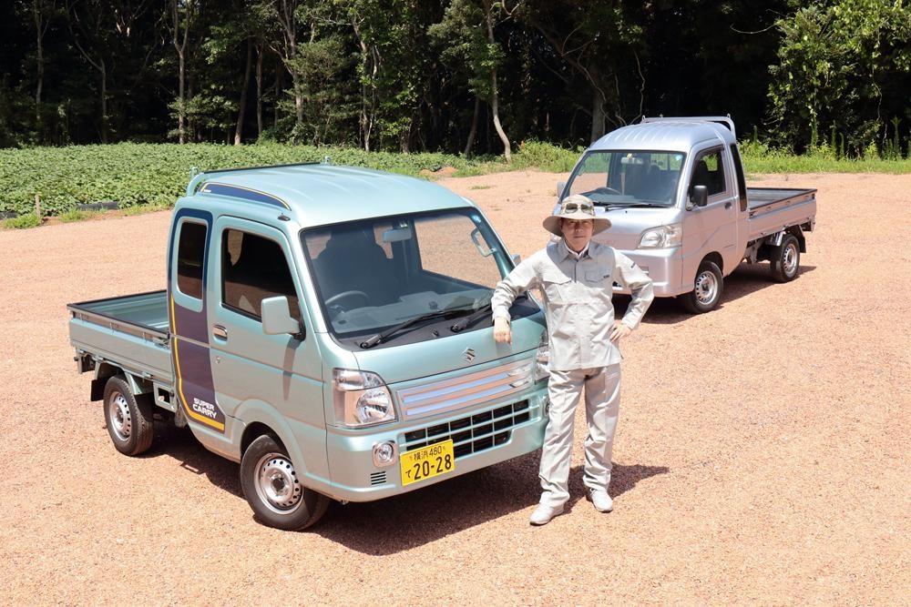 【ムービー】スズキ・キャリィ&ダイハツ・ハイゼット! 中谷明彦の軽トラック乗り比べ