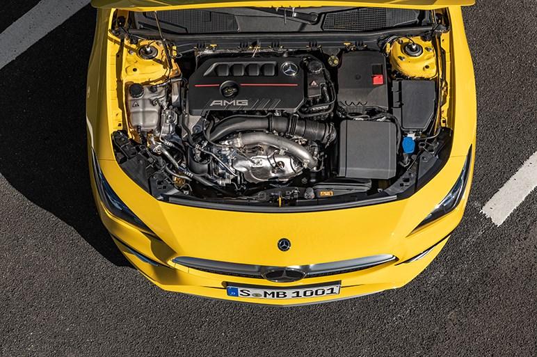メルセデス-AMG、CLA35 4MATICをワールドプレミア。欧州では8月に発売予定