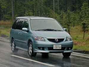 【懐かしの国産車 25】マツダ MPVはマイナーチェンジでエンジンを一新して走りを強化