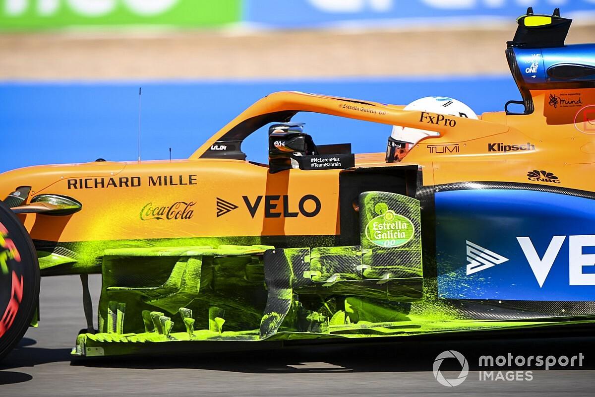 """マクラーレン、イギリスGPで空力アップデート。マシンの""""弱点""""に対処"""