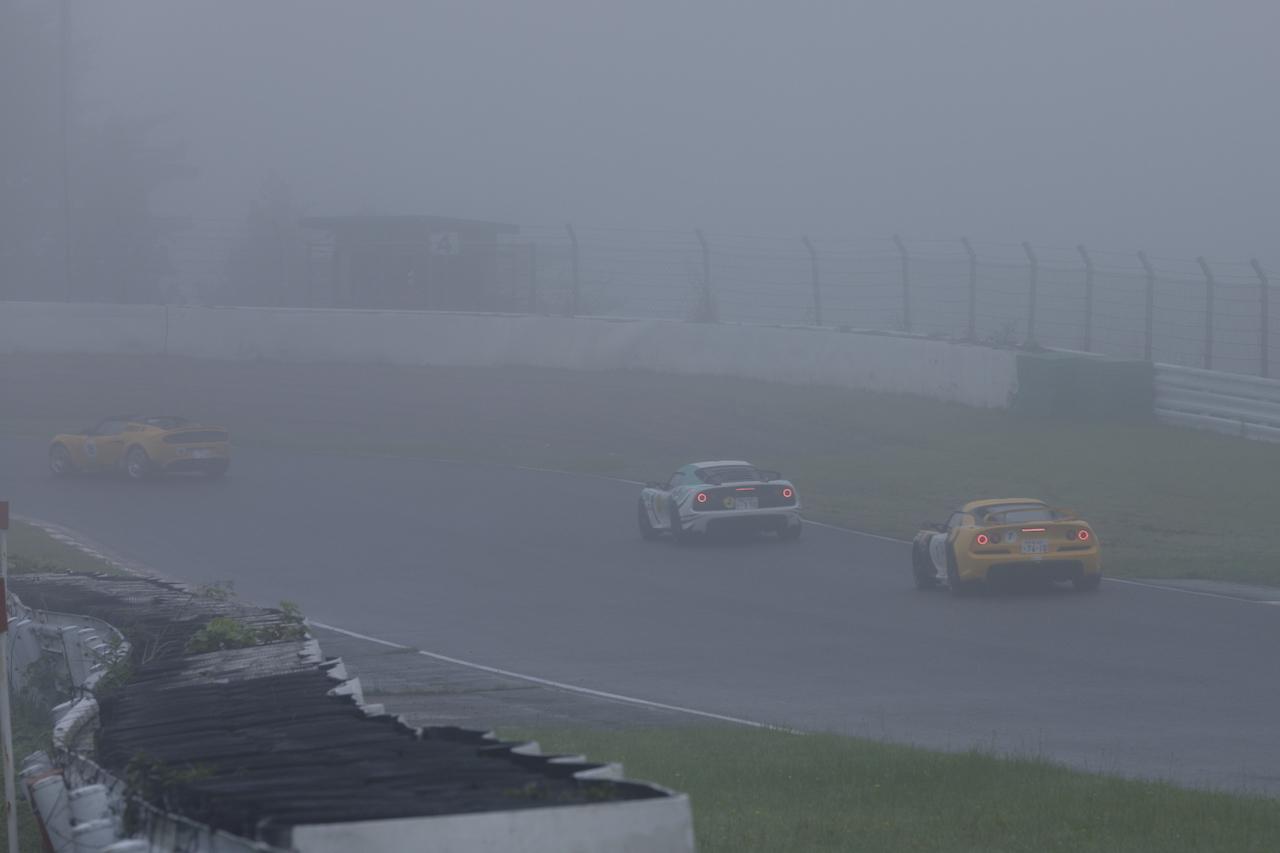 ロータス カップ ジャパン2020開幕! 第1戦スポーツランドSUGO、濃霧のため決勝は中止に