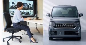 車のシート素材がオフィス家具へ!ホンダ「N-BOX」「N-WGN」の抗ウイルスシート生地を採用した内田洋行のオフィスチェア