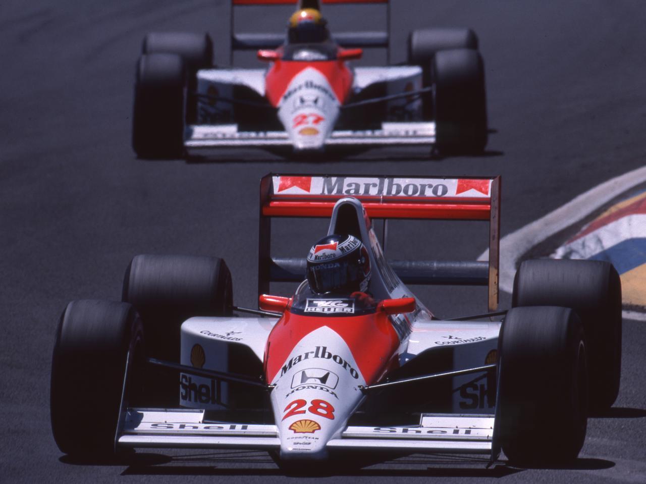 最強のエンジンでダブルタイトルを獲得したマクラーレンン・ホンダ MP4/5B(1990)【ホンダF1活動第2期の10年 (10)】