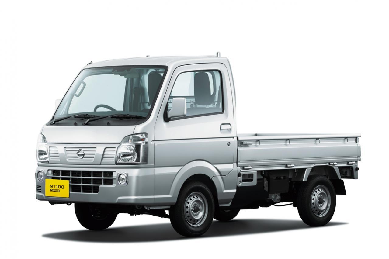 日産の軽トラック「NT100クリッパー」が一部仕様向上で先進安全装備が充実