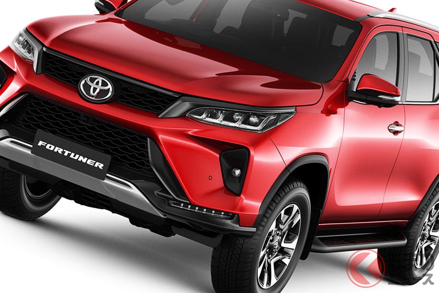 トヨタ「ハイラックスサーフ」を彷彿とさせる新型「フォーチュナー」 タフ&プレミアムに刷新