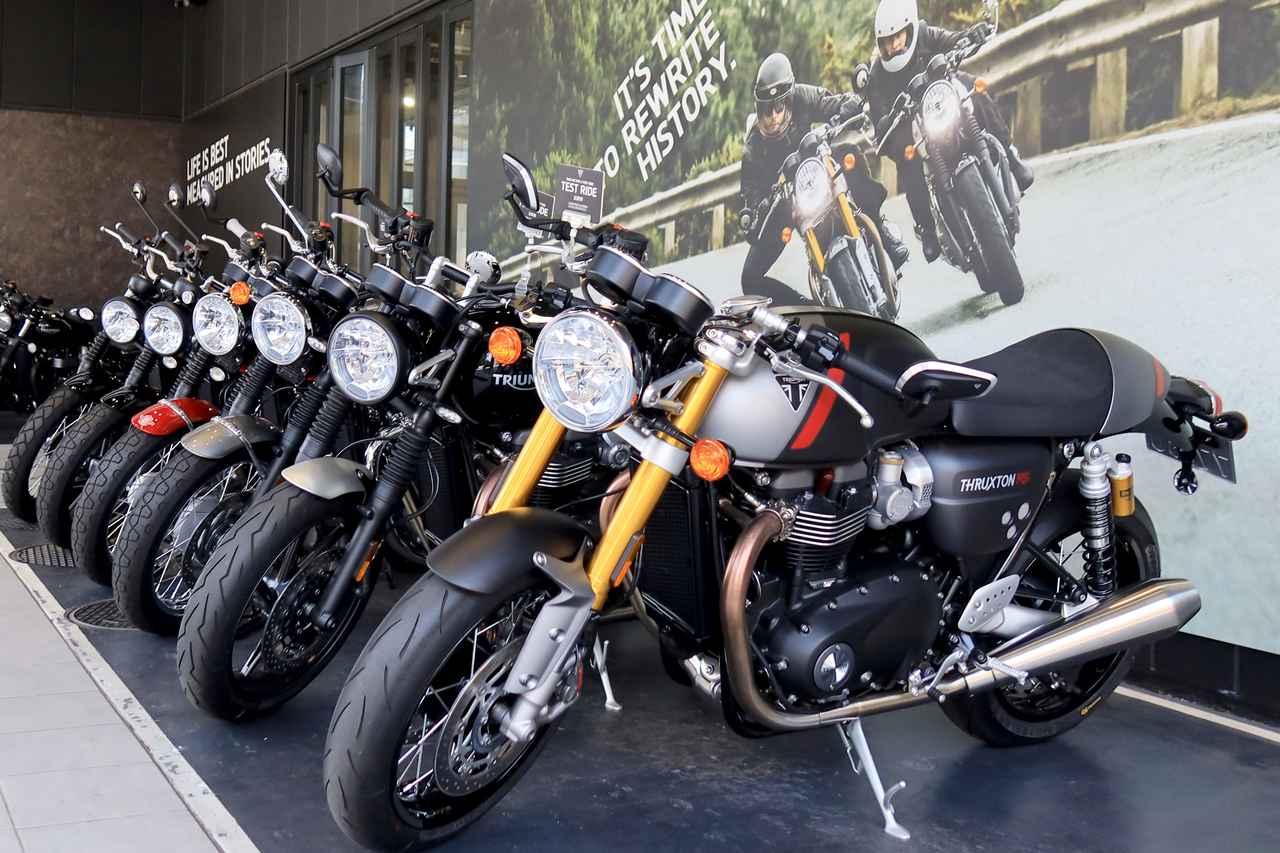 【2020年上半期】トライアンフで一番売れたバイクは何? 旗艦店「トライアンフ東京」で聞いてきました!