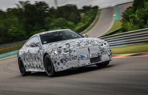 """""""ニュル""""に登場! BMWが次期「M3セダン」と「M4クーペ」のテストを公開!"""
