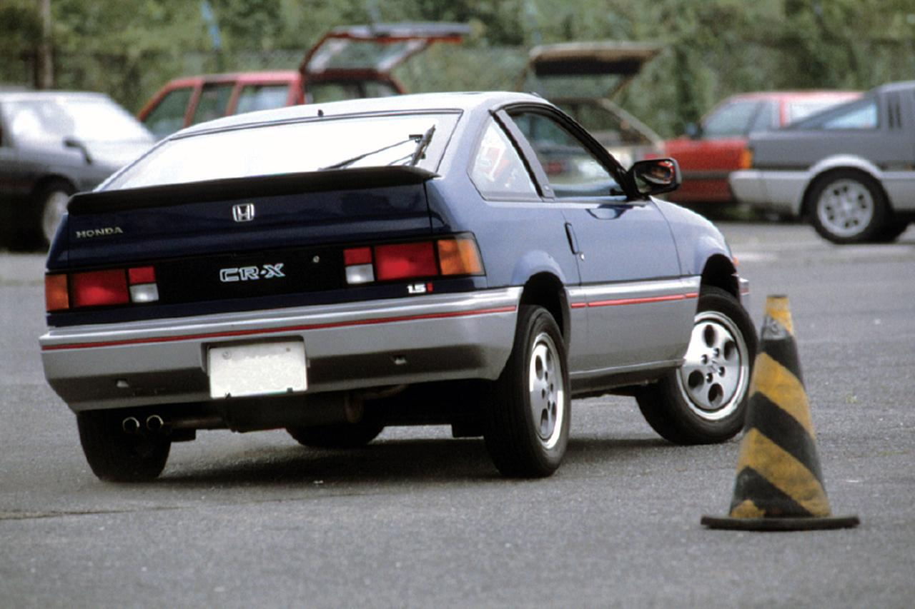 【昭和の名車 86】ホンダ バラードスポーツ CR-X:昭和58年(1983年)