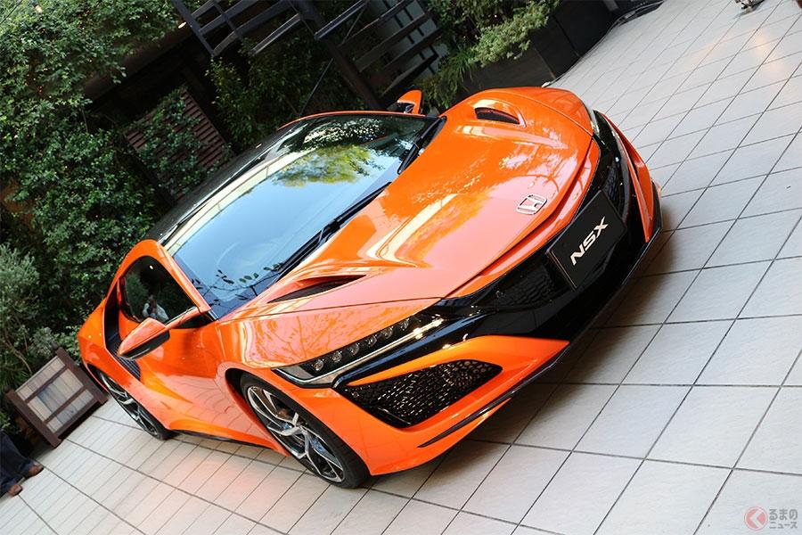 初代のオレンジ復活!? ホンダ新型「NSX」'19年モデル登場 初の改良で走りを磨く