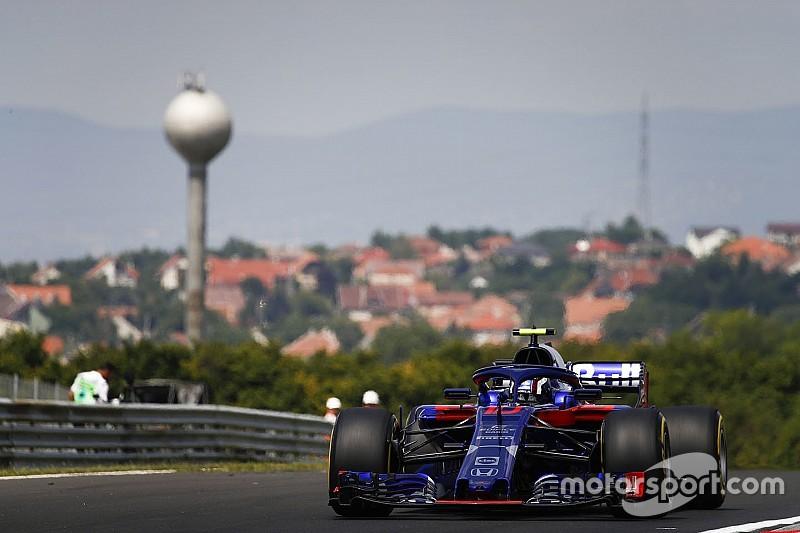 F1ハンガリーFP2速報:ベッテル首位、僅差でフェルスタッペン続く。トロロッソ・ホンダのガスリー9番手