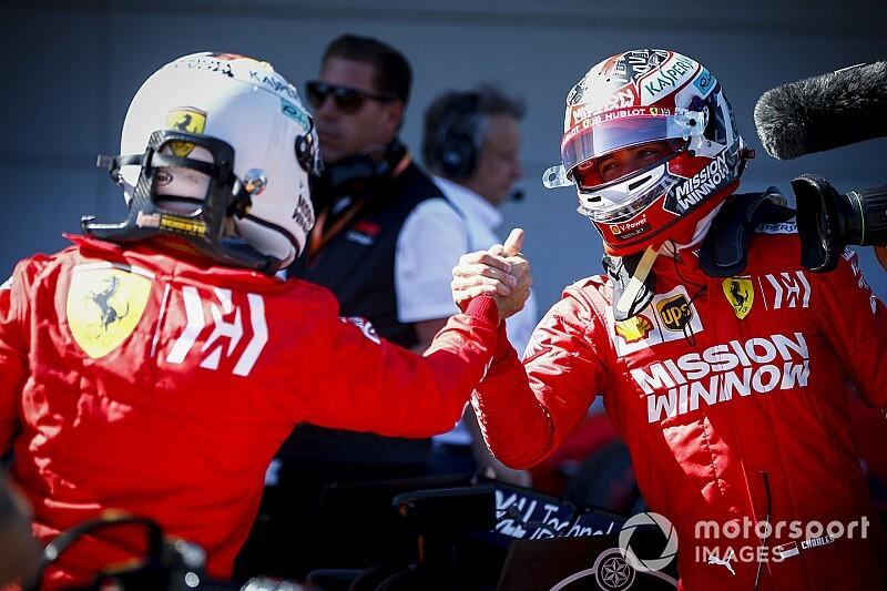 フェラーリ、驚きのフロントロウ独占。ベッテル「まだ仕事は終わってない」/F1日本GP予選トップ3コメント