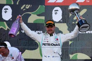 F1日本GP鈴鹿決勝:ボッタス、コンストラクターズ6連覇を決める今季3勝目。フェルスタッペンは悔しい1周目の接触