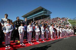 【ポイントランキング】F1第17戦日本GP終了時点