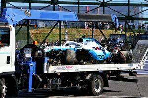 予選Q1でクラッシュしたクビサはピットスタート/F1第17戦日本GPグリッド
