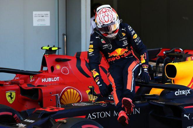 フェルスタッペン予選5番手「残念な結果だが決勝には自信がある。挽回するため集中していく」レッドブル・ホンダF1日本GP
