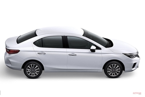 ホンダ新型シティ(日本名グレイス)、タイ仕様は1.0L VTECターボ RSも登場