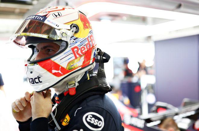 フェルスタッペン初日3番手「FP2で挽回できてほっとした。新燃料によるパワー向上も感じる」レッドブル・ホンダF1日本GP