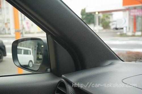試乗で気付いたイグニスの視界の良し悪し。気になった事とは?