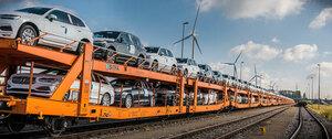 ボルボが鉄道を効果的に活用してCO2の排出を削減!