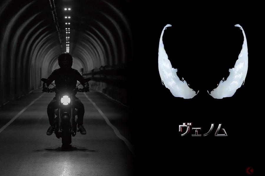 ドゥカティ「スクランブラー」 アメコミ映画最新作『ヴェノム』に登場